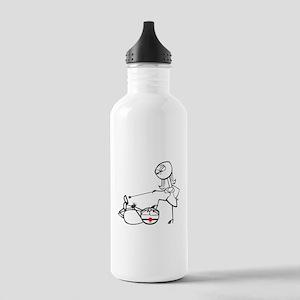 BDSM hogtie Stainless Water Bottle 1.0L