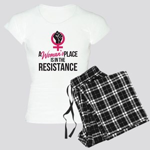 Womans Place in Resistance Women's Light Pajamas