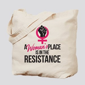 Womans Place in Resistance Tote Bag
