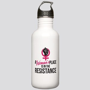 Womans Place in Resist Stainless Water Bottle 1.0L