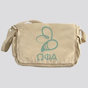 Omega Phi Alpha Bee Messenger Bag