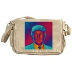 Pop Art President Trump Messenger Bag