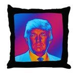 Pop Art President Trump Throw Pillow