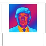 Pop Art President Trump Yard Sign
