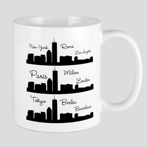 Fashion Capitals of the World Mugs