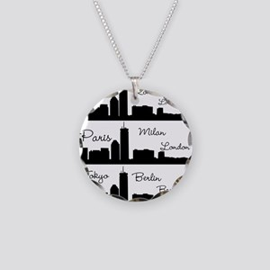 Fashion Capitals of the World Necklace