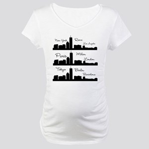Fashion Capitals of the World Maternity T-Shirt