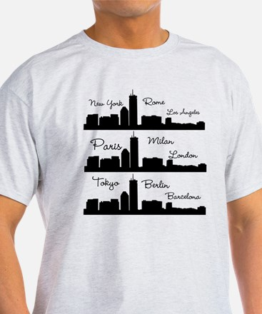 Fashion Capitals of the World T-Shirt
