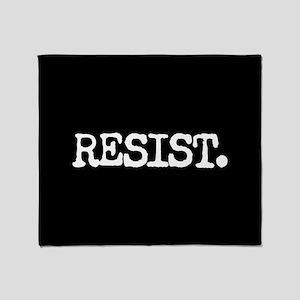 RESIST. Throw Blanket