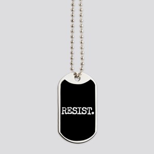 RESIST. Dog Tags