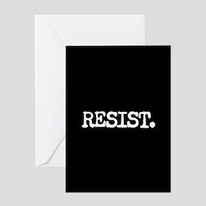 RESIST. Greeting Card