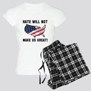 Hate Will Not Make US Great Women's Light Pajamas