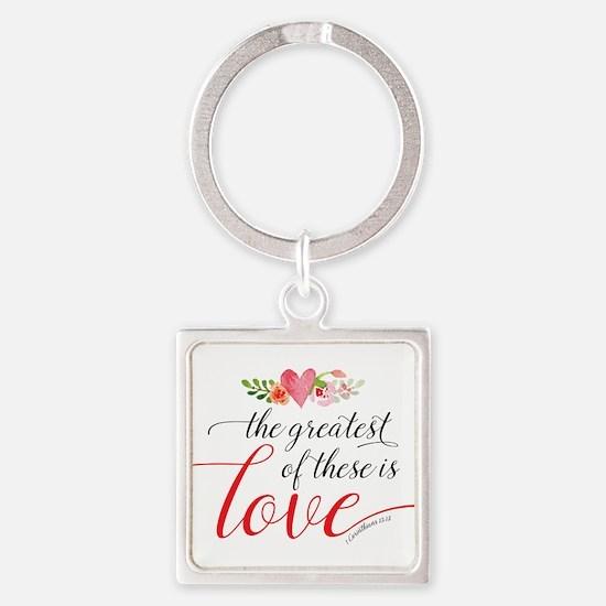Greatest Love Keychains