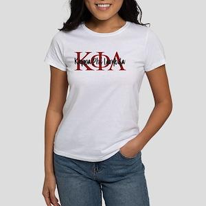 Kappa Phi Lambda Letters Logo Women's T-Shirt