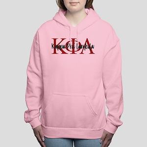 Kappa Phi Lambda Letters Women's Hooded Sweatshirt