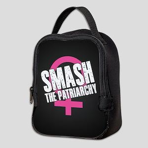 Smash the Patriarchy Neoprene Lunch Bag