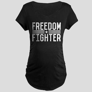 Freedom Fighter Maternity Dark T-Shirt