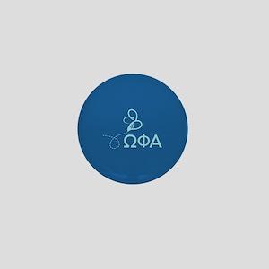 Omega Phi Alpha Sorority Mini Button