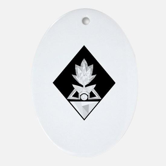 Cute Steven Oval Ornament