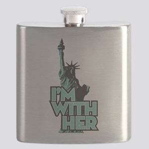 Lady Liberty - Im With Her Flask