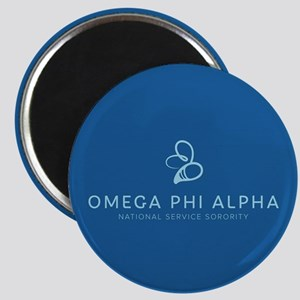 Omega Phi Alpha Sorority Name and Bee Symbo Magnet
