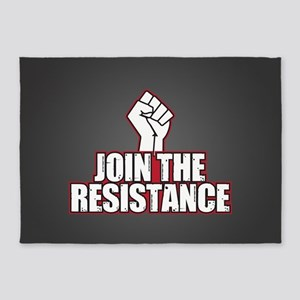 Join the Resistance 5'x7'Area Rug
