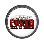 Poker till it Hurts Wall Clock