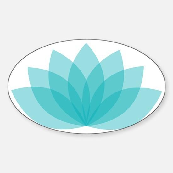 Blue Lotus Decal