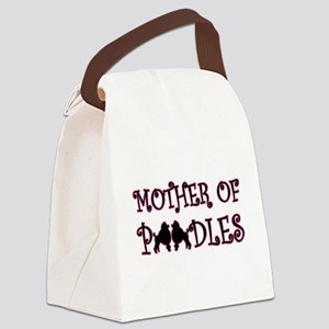 Mother of Poodles Canvas Lunch Bag