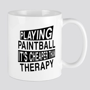Awesome Paint Ball Player Designs Mug