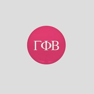 Gamma Phi Beta Letters Mini Button