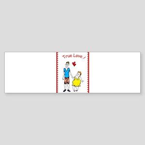 Funny Valentine - True Love 2 Bumper Sticker
