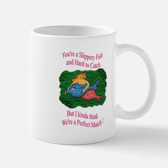 Valentine - Slippery Fish Mugs
