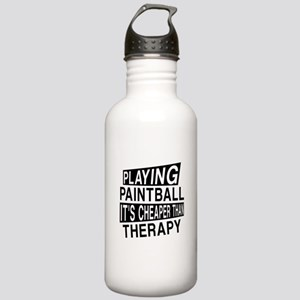 Awesome Paint Ball Pla Stainless Water Bottle 1.0L