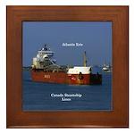 Atlantic Erie Framed Tile