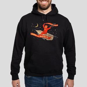 soviet space propaganda cosmonaut Sweatshirt