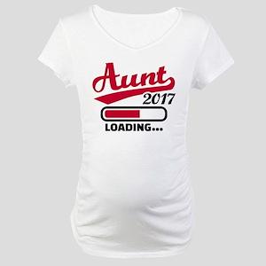 Aunt 2017 Maternity T-Shirt