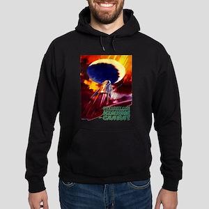 spaceship soviet space propaganda Sweatshirt