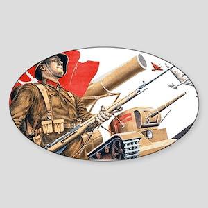 WWii soviet union propaganda Sticker