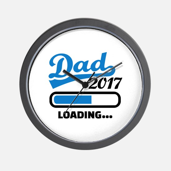Dad 2017 Wall Clock