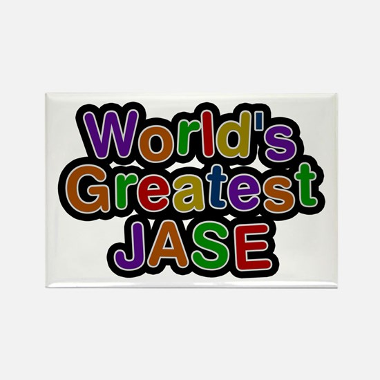 World's Greatest Jase Rectangle Magnet