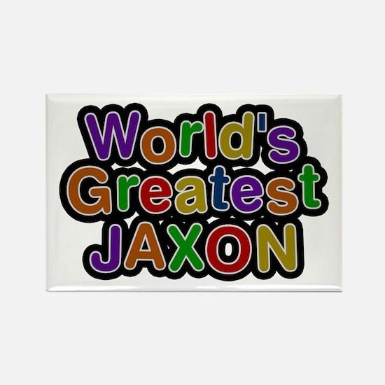 World's Greatest Jaxon Rectangle Magnet