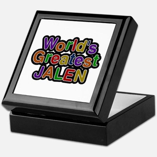 World's Greatest Jalen Keepsake Box