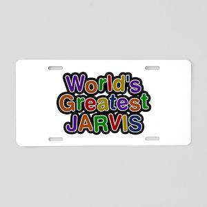 World's Greatest Jarvis Aluminum License Plate
