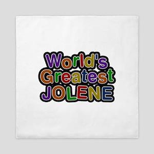 World's Greatest Jolene Queen Duvet