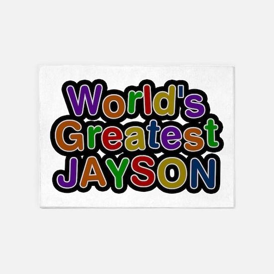 World's Greatest Jayson 5'x7' Area Rug