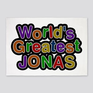 World's Greatest Jonas 5'x7' Area Rug