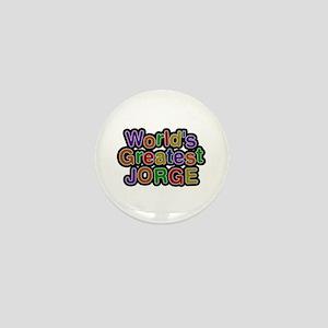 World's Greatest Jorge Mini Button