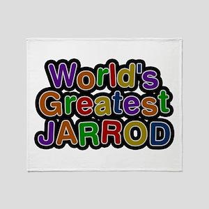 World's Greatest Jarrod Throw Blanket