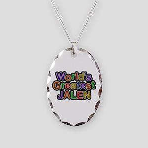 World's Greatest Jalen Oval Necklace